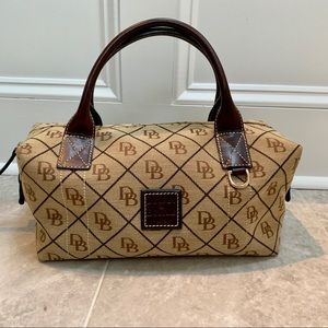 Dooney & Bourke Bags - NWOT Dooney & Bourke Small Duffle Bag Brown / Tan